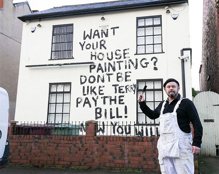 The Painter, Who Didn't Get Payed For The Work, Took Revenge On The Greedy Client