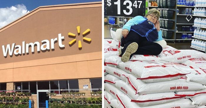 Walmart Keeps Posting Pics Of This Employee Posing With Stuff, She Goes Viral (38 Pics)