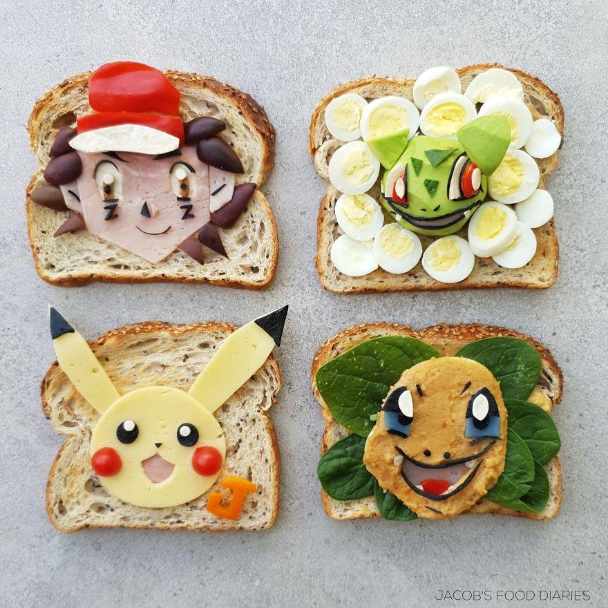 Pokemon Toast