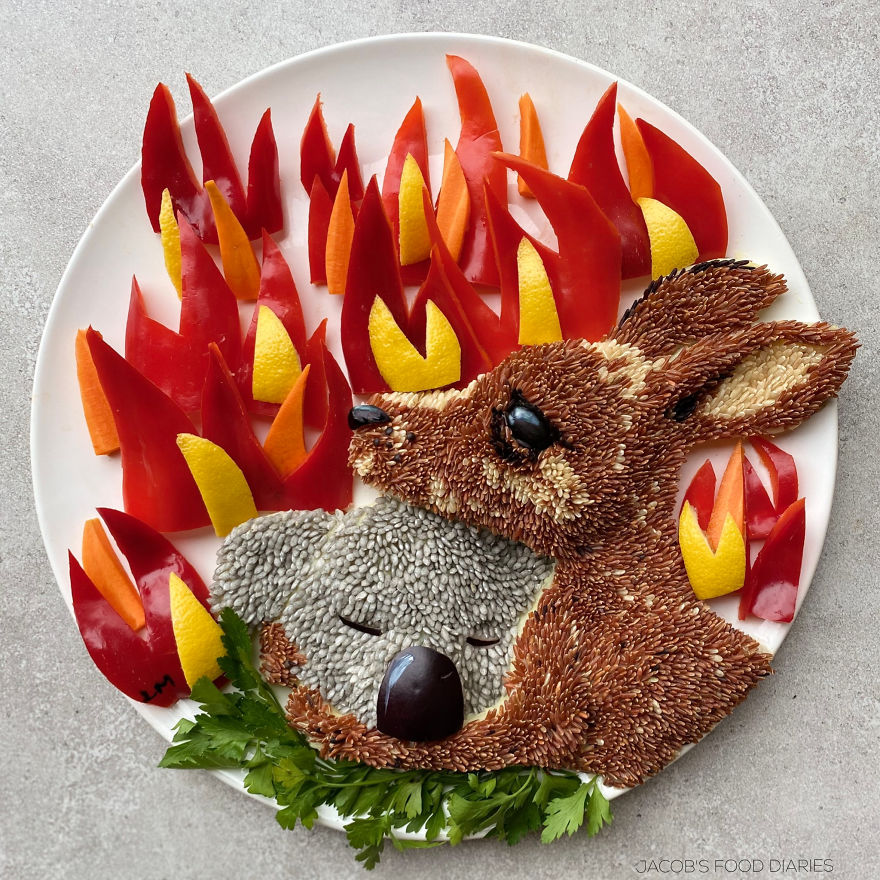 Tribute To The Australian Bushfires