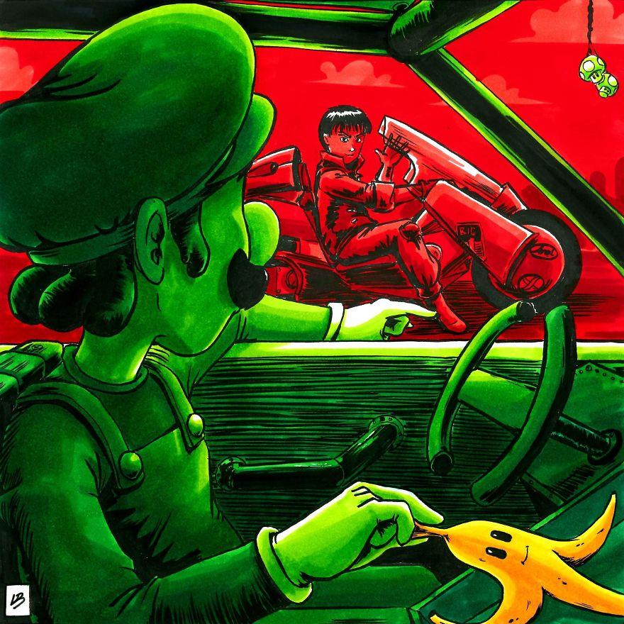 Luigi vs. Kaneda