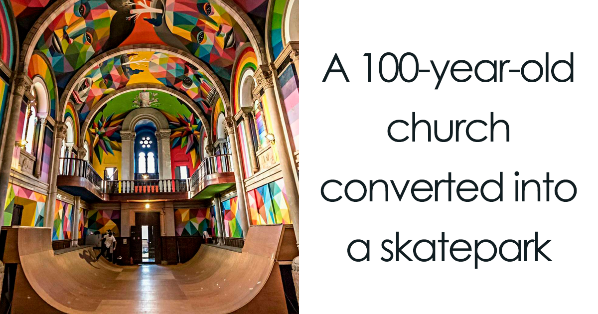 49 Times People Resurrected Old Buildings And Gave Them New Purpose