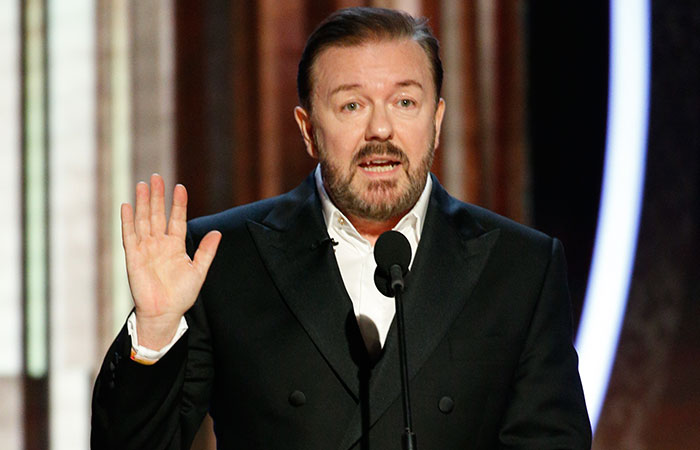 Someone Asks Ricky Gervais For His Opinion On The Oscars, The Comedian Doesn't Hold Back And Roasts Celebs Once Again