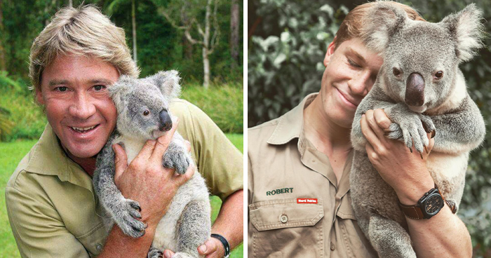 Robert Irwin Turns Heads With An Iconic Photo Recreation Where He Looks Exactly Like His Dad