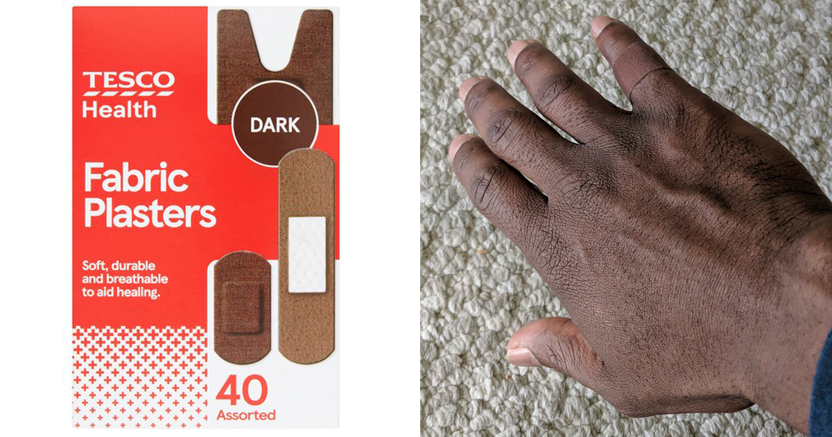 Tesco Launches The First Band-Aids For Diverse Skin Tones - bored panda