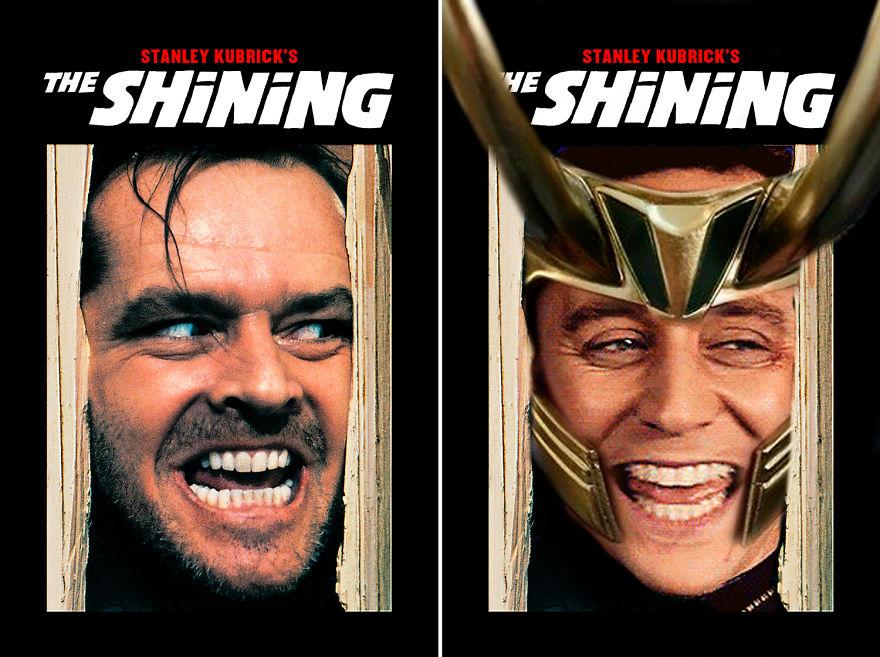 Loki Starring The Shining
