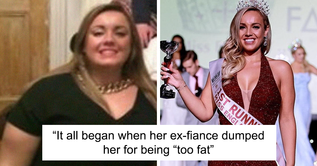 Woman Who Lost 100 Pounds Wins Miss Great Britain 2020 - bored panda