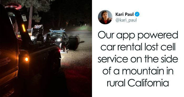 Woman Rents A Car Using An App, Gets Told To Sleep In The Car After Her Phone Loses Cell Service