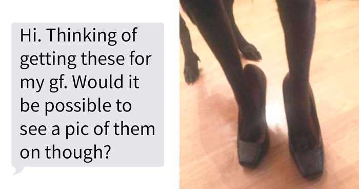 Woman Shares How She Deals With Creeps Who Pretend They're Interested In Buying Shoes Just To See Her Legs