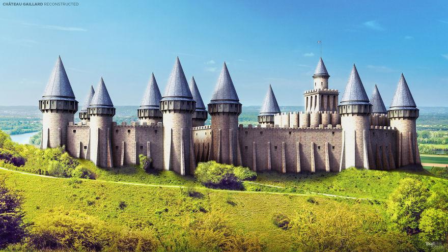 Hét virtuálisan újjászületett kastély Európában