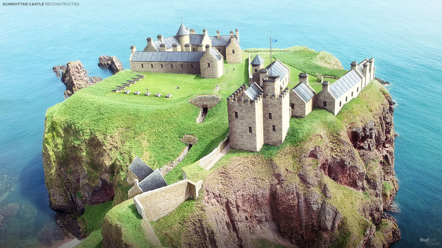 Dvorac Dunnottar, Stonehaven, Škotska