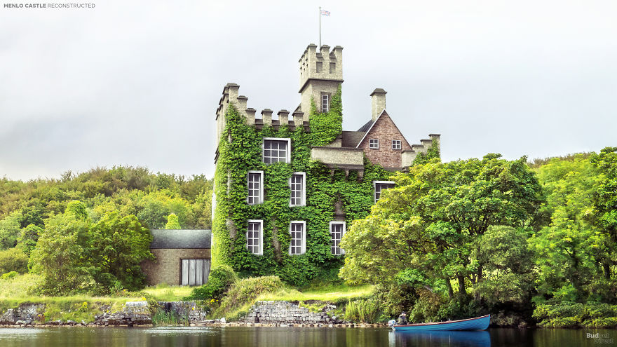 Dvorac Menlo, Galway City, Irska