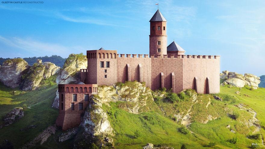 Dvorac Olsztyn, Olsztyn, Poljska