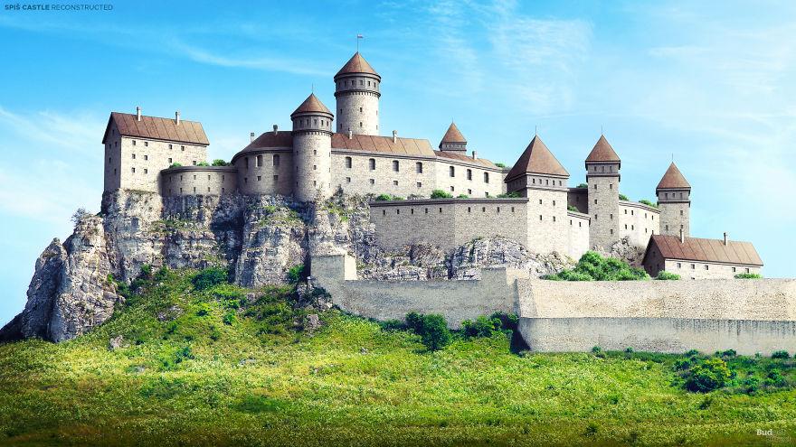 Dvorac Spiš, Spišské Podhradie, Slovačka