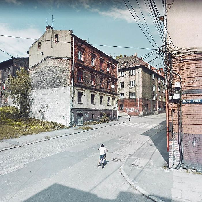 During Quarantine I Travel Around Poland Online And Find These Great Shots On Google Street View