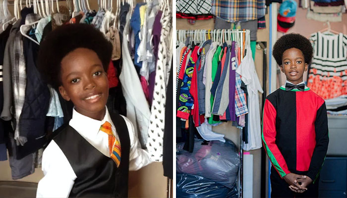 This Kid Opened Up A Thrift Store For Low-Income Families Where Everything's Under $10