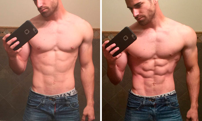 This Guy Finds Out That Models Gave Him The Wrong Impression Of How Muscles Suppose To Look When Relaxed, Realizes He's Been Working Out Too Hard