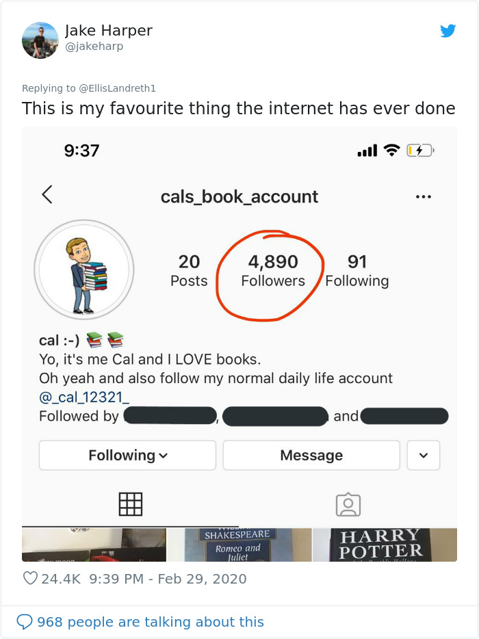 Classmates Bully This Boy For Creating An Insta Account Reviewing Books In A Group Chat, They Add Him So He Can See It