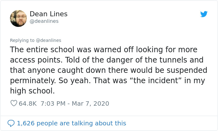 Six 14 Y.O. Students Accidentally Discovered Secret Tunnels, Spent 3 Weeks Planning A Candy Heist Before Chaos Ensued