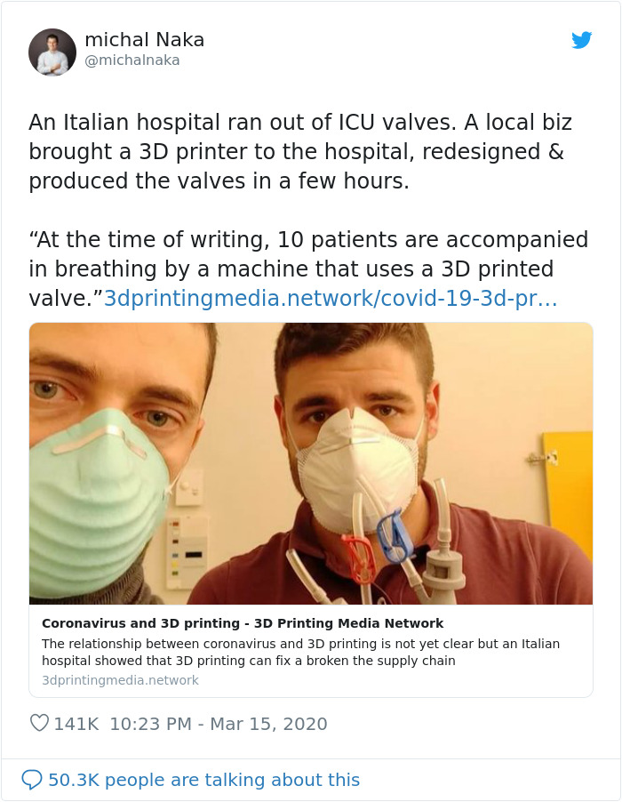 An Italian Hospital Ran Out Of Icu Valves