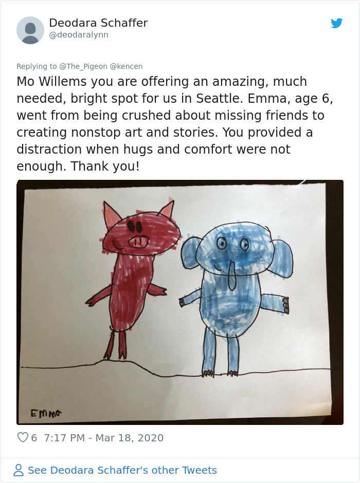 Bestselling Children's Author Mo Willems Is Teaching Kids Drawing On YouTube