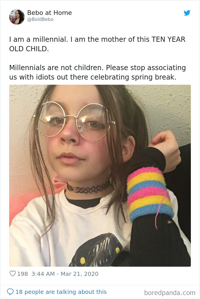"""Fed Up With Being Painted As """"Irresponsible Spring Breakers,"""" Millennials Remind The World How Old They Actually Are"""