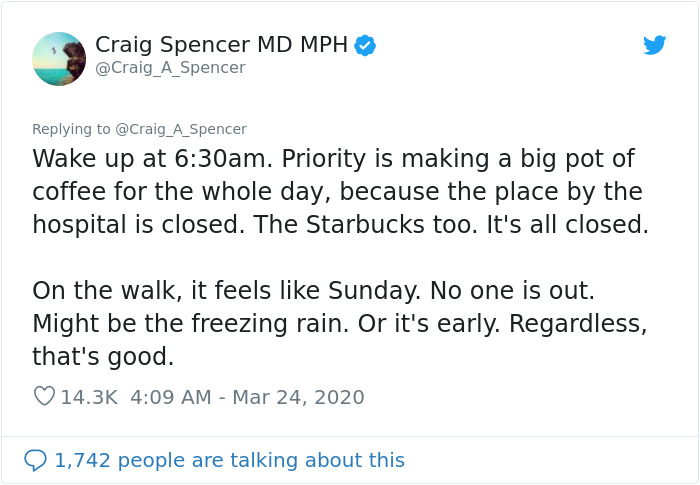 Doctor Tweets What His Day At The Hospital Looks Like, Says 'It's Really Hard To Understand How Bad This Is'