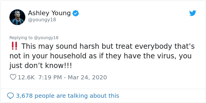 Football Player Ashley Young Shares What It's Like Living In Quarantined Italy And Gives His Tips