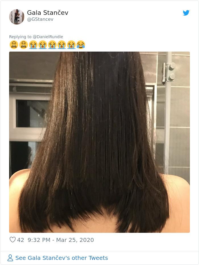 Isolation Haircut