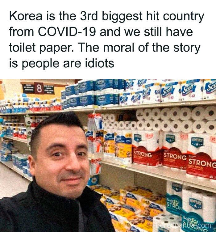 It's called people of Korea aren't greedy