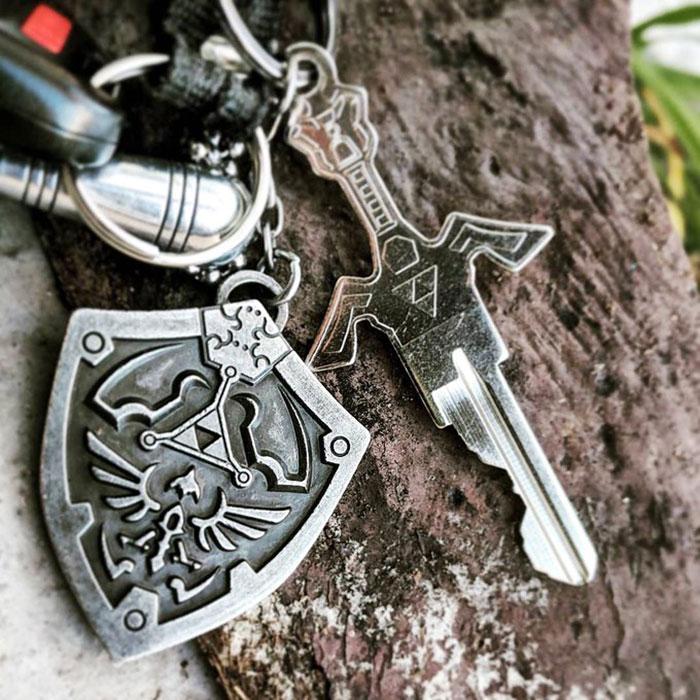 Company Creates Sword-Like Keys To Make Unlocking Doors A Fantasy Experience