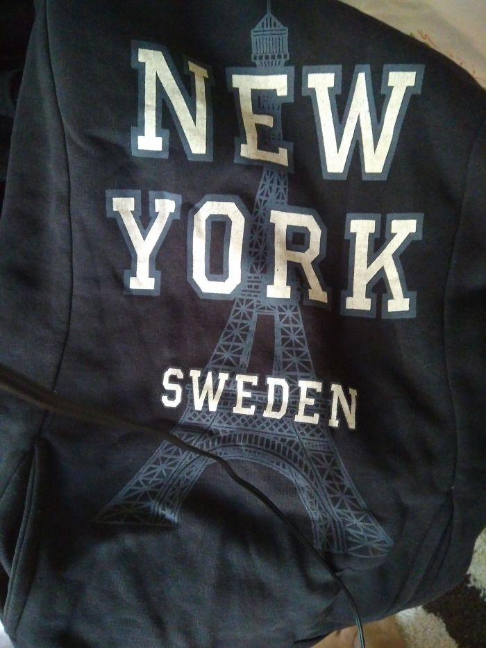 Wow, Look At Eiffel Tower Which Is In New York And In Sweden