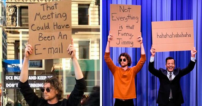 'Dude With A Sign' Has 5.7 Million Followers For Dropping Truth Bombs On Signs In Public (29 New Pics)