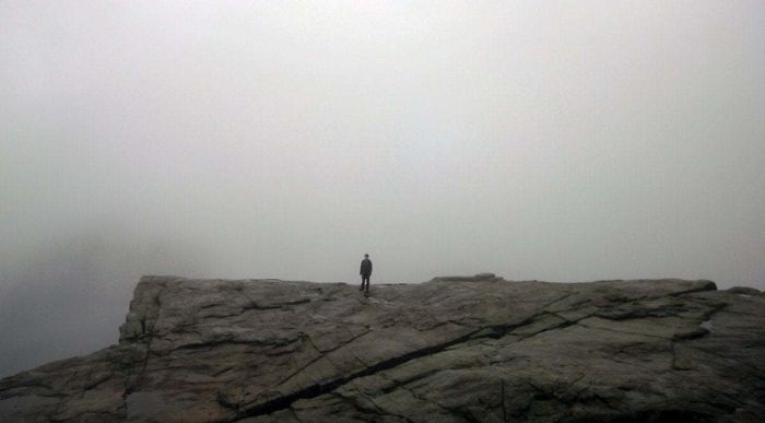 After Several Hours Of Walking, I Was Awarded With This Magnificent View From The Pulpit Rock, Norway