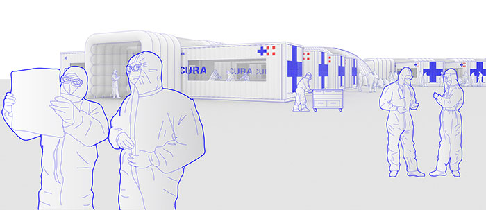 Italians Design An Emergency Hospital Out Of Shipping Containers