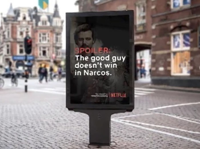 These 5 Billboards That Spoil Your Favorite Netflix Shows If You Leave Your Home Are Being Praised As A Good Idea