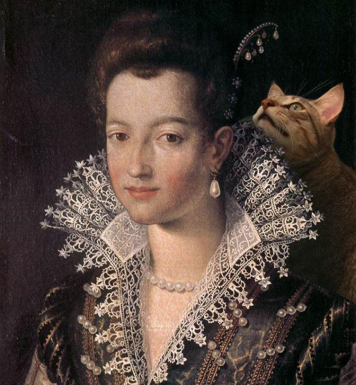 """""""Young Maria De Medici"""" With Giorgio, Santi Di Tito"""