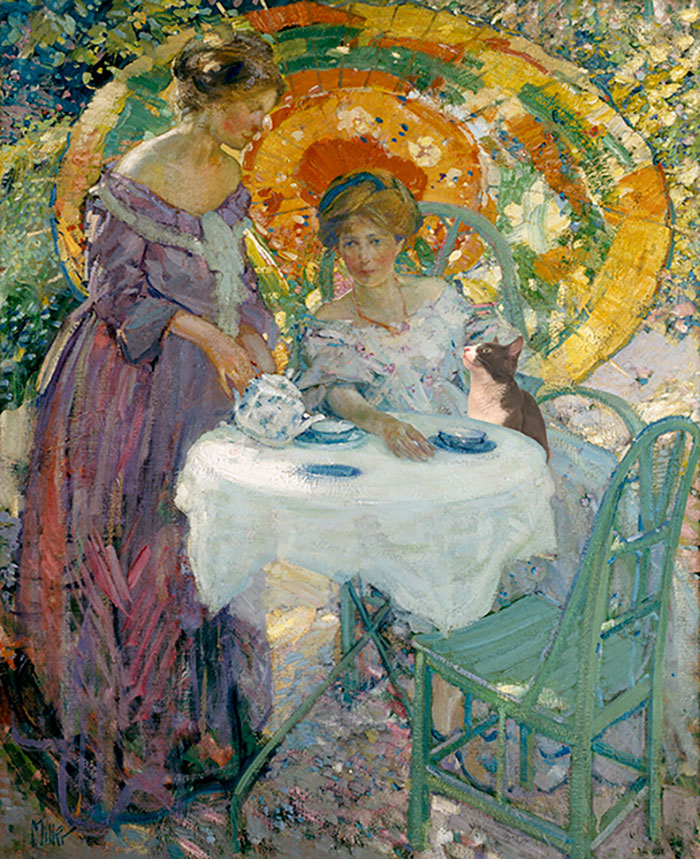 """Afternoon Tea"" With Moochie, Richard Edward Miller"