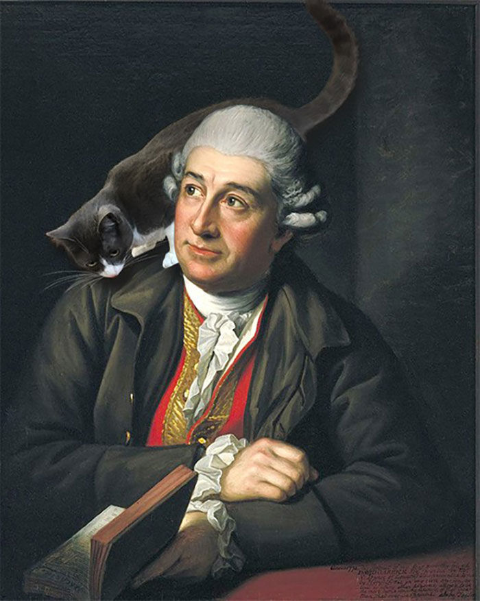 """Garrick Reads Macbeth"" With Moochie, Sir Nathaniel Dance-Holland"
