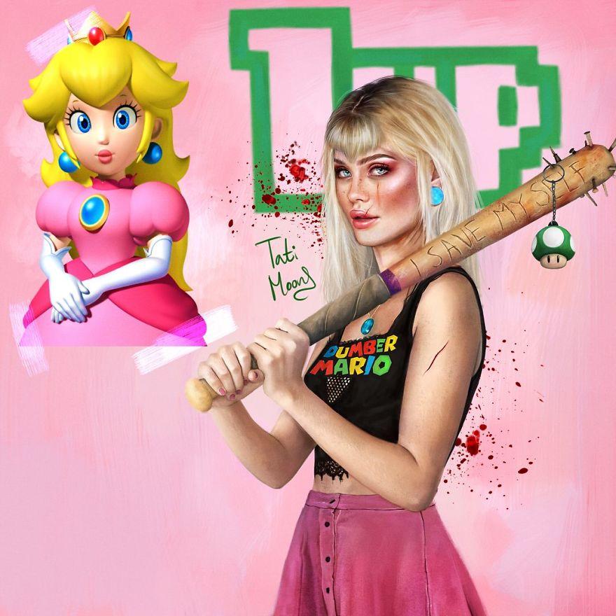 Princess Peach From Super Mario