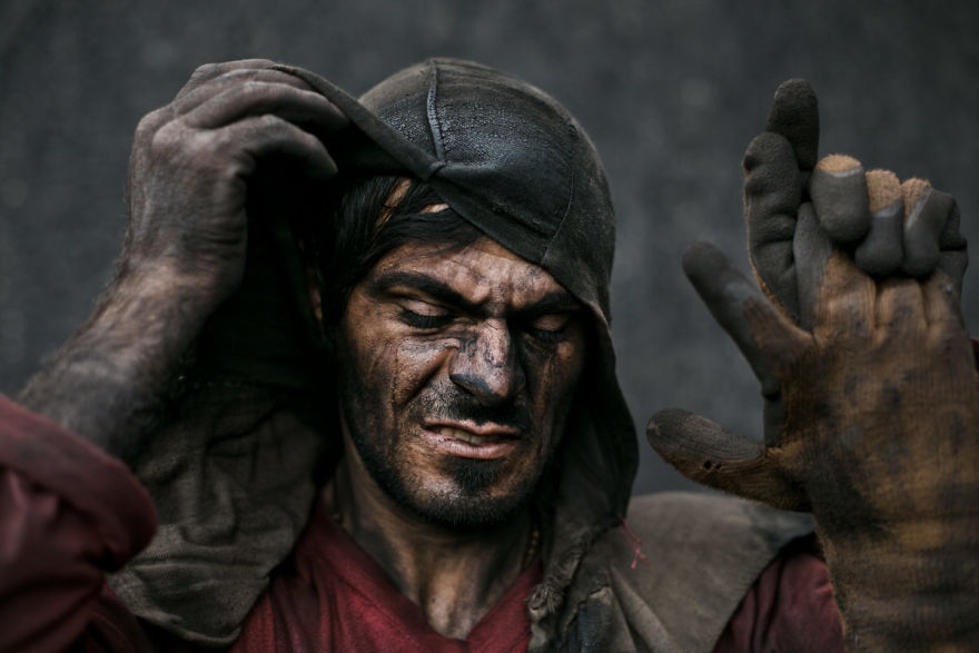 """""""Coal Miner"""" By Azin Haghighi, Finalist"""