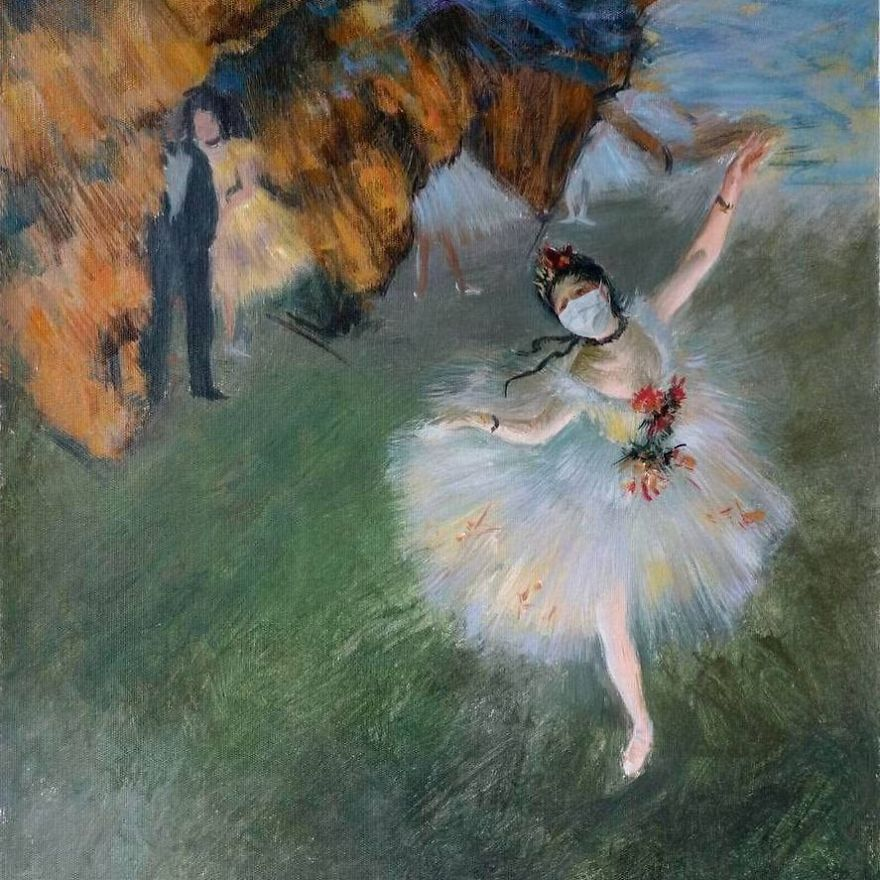 L'etoile By Edgar Degas, 1878