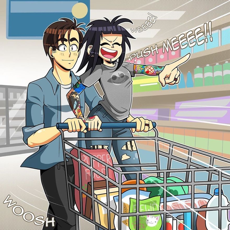 Fun At The Grocery Store
