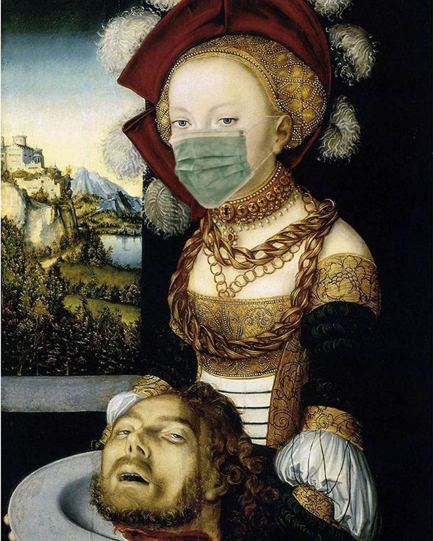 Salome By Lucas Cranach The Elder, 1530
