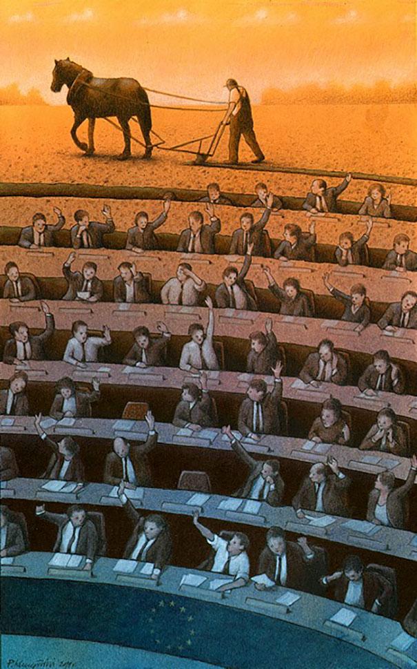 Bright Illustrations By Pawel Kuczynski (New Pics)
