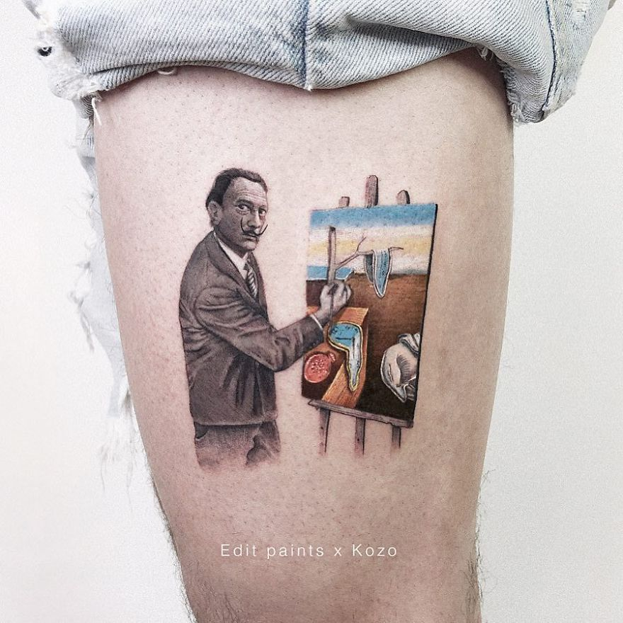 Mini-Colored-Pop-Culture-Tattoo-Kozo
