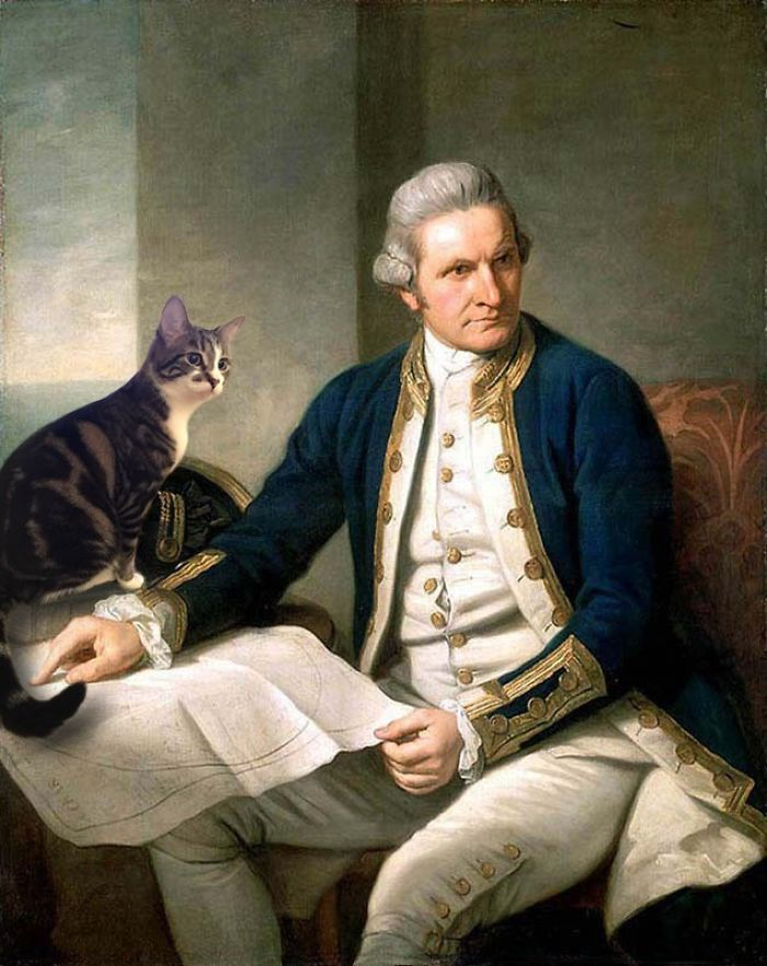 """Captain James Cook"" And The Dumpling, Sir Nathaniel Dance-Holland"