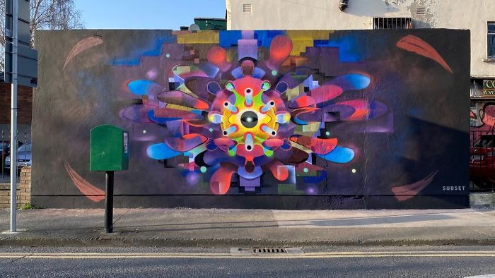 Dublin, Ireland. Artist: Subset Collective