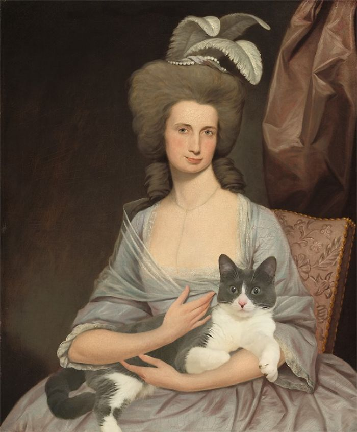 """Elizabeth Stevens Carle"" With Moochie, Joseph Wright Of Derby"