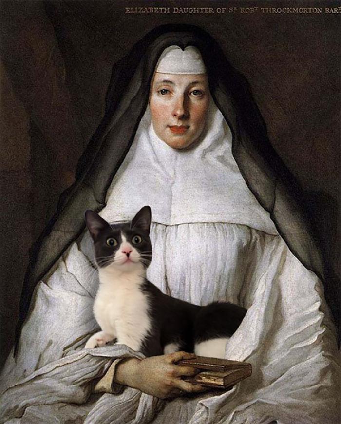 """""""Elizabeth Trockmorton"""" With Moochie, Nicolas De Largillière"""
